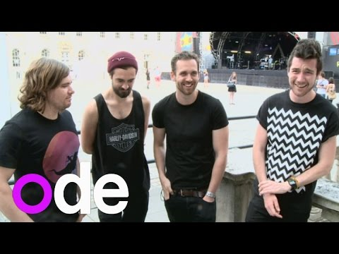 Bastille interview: Exactly how long is Dan's hair?