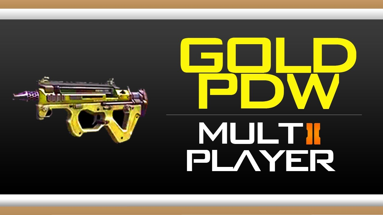 Gold Camo Black Ops 2 Black Ops 2 Gold Pdw Camo