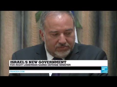 Israel's new government: Far-right Lieberman named defense minister