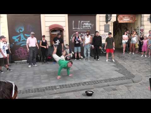 Lviv music 1. Музыкальный Львов - 1. Уличные танцы.