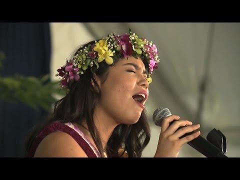 Aulii Cravalho performs 'How Far I'll Go'