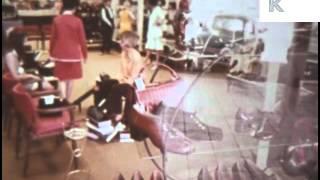 Late 1960s Early 1970s Shoe Shop, Women Shopping, USA