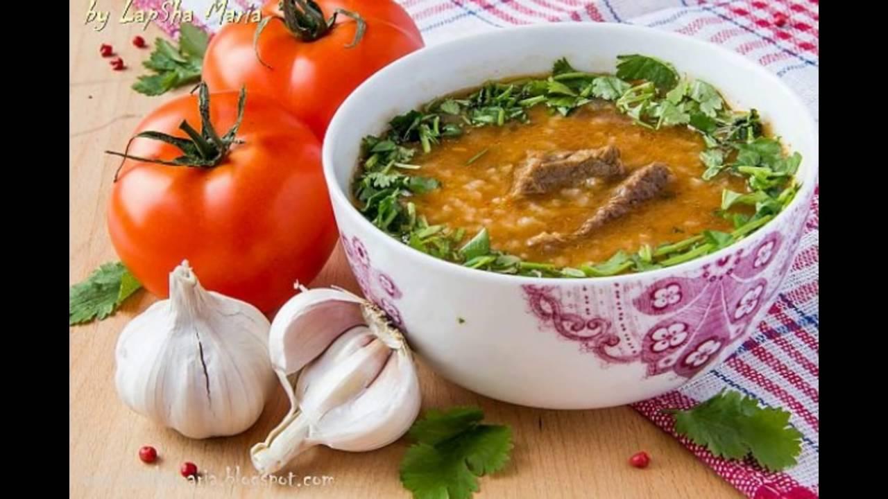 Рецепт суп харчо из свинины в домашних условиях 534