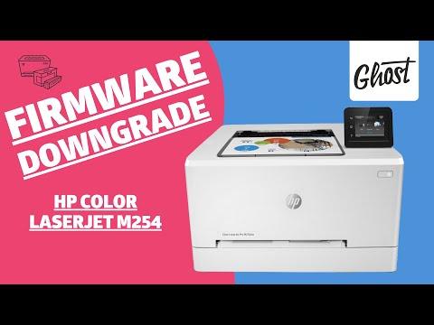 HP Color Laserjet M254 Serie Firmware Downgrad