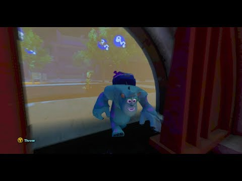 Disney Infinity - Monsters University Play Set - Part 11