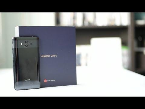 فتح علبة هواوي ميت ١٠ Unboxing Huawei Mate 10