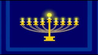 Ocho Candelikas - A Hanukkah Song (Eight Little Candles)