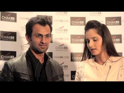 Sania Mirza & Shoab Malik Chak89 Interview
