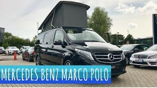 Mercedes Benz Marco Polo V Class - Camper Van Tour