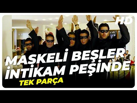 Maskeli Beşler İntikam Peşinde 2005 | Türk Filmi