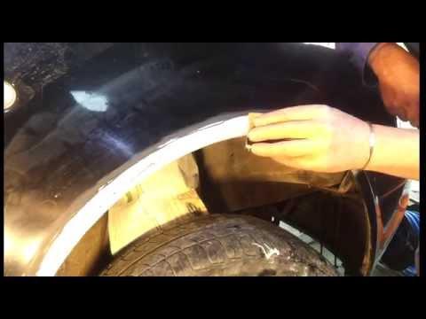 Rust treament. rust converter diy car body repair