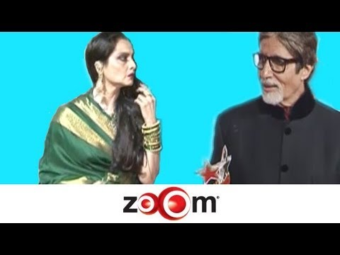 Amitabh Bachchan & Rekha came face to face at an award show