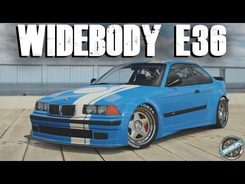 Widebody e36 1997 bmw e36 m3 drift stance build for Garage bmw horizon