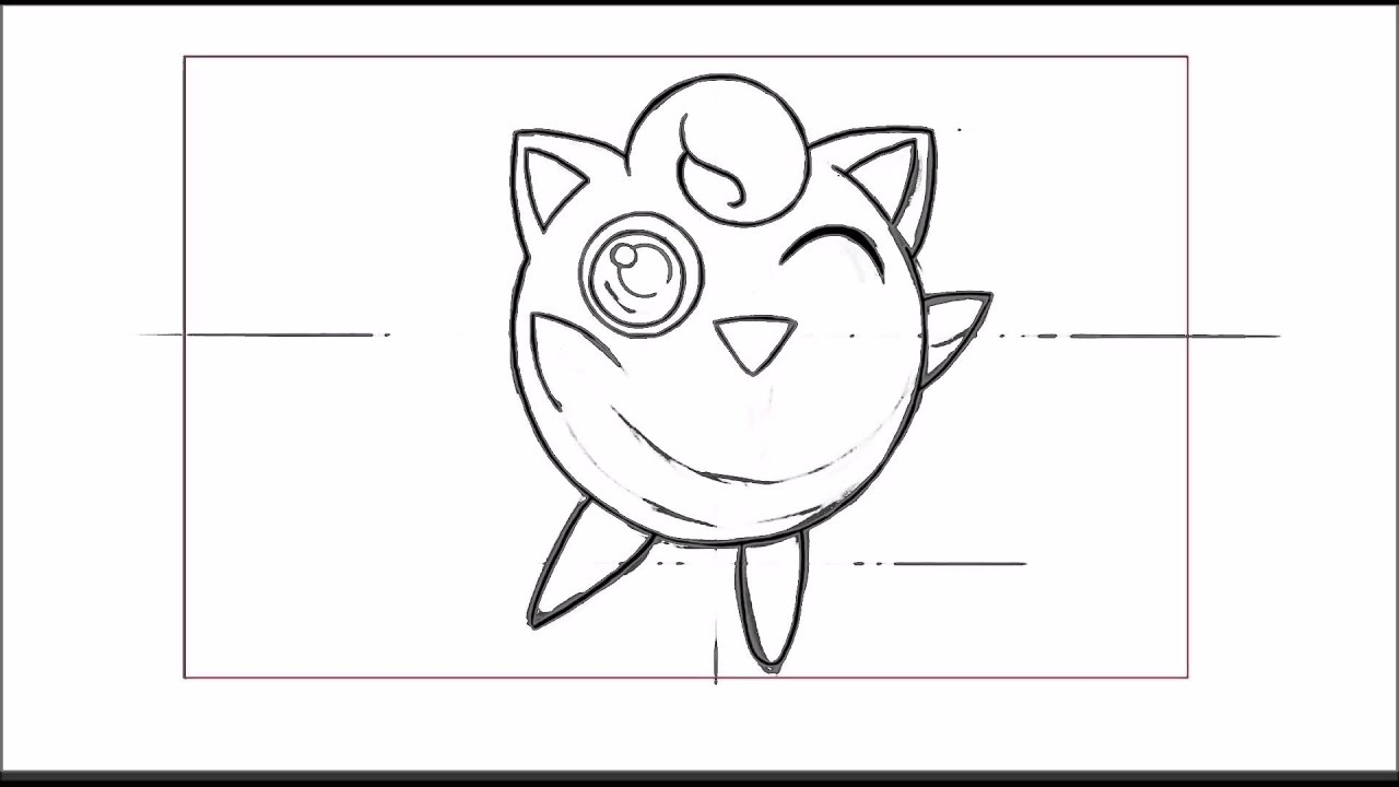 Pokemon Jigglypuff Drawing How to Draw Jigglypuff Step by