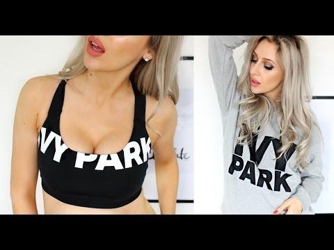 Beyoncé IVY PARK Haul & Try On - TOPSHOP | Carly Musleh
