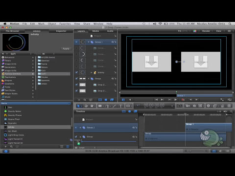 Motion - #28: Generadores para Final Cut Pro