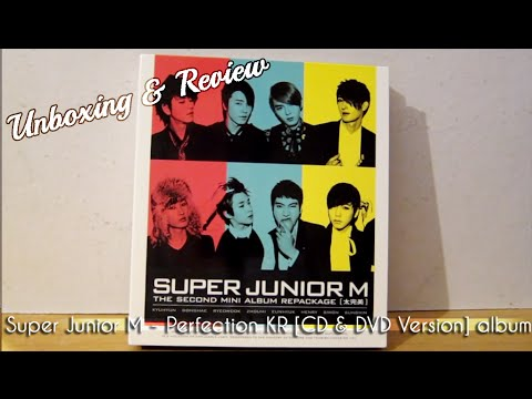 Super Junior M - Perfection Repackage [Korean Version] [CD + DVD] Unboxing & Review