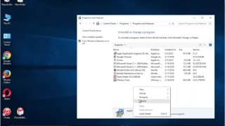Uninstall Apple Application Support on Win 10