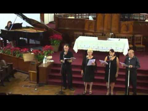 Quarteto Vitoria  - Repousa Tranquilo.flv