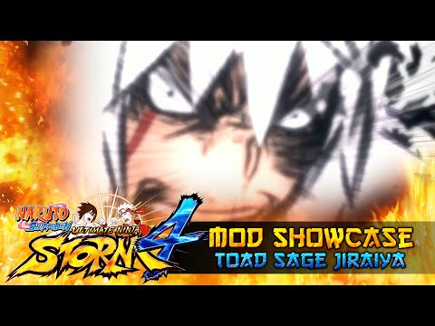 Toad Sage Jiraiya Unchained!!! Naruto Shippuden Ultimate Ninja Storm 4 Mods w/ ShinoBeenTrill thumbnail