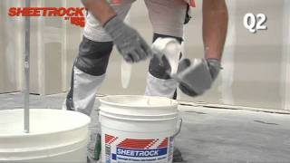 Quality Levels For Drywall Finishing, Q1 to Q4