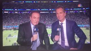 Super Bowl LII Intro And The Champion by Carrie Underwood featuring Ludacris with Al Michaels