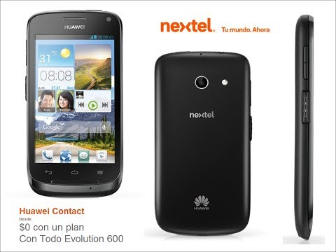 Nuevo Huawei Ascend Contact de Nextel