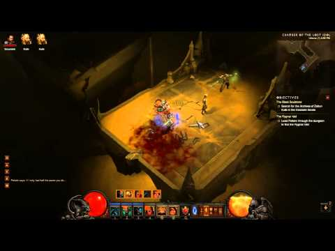 Diablo III - Stinging Winds - Chamber of the Lost Idol Dungeon (PC)