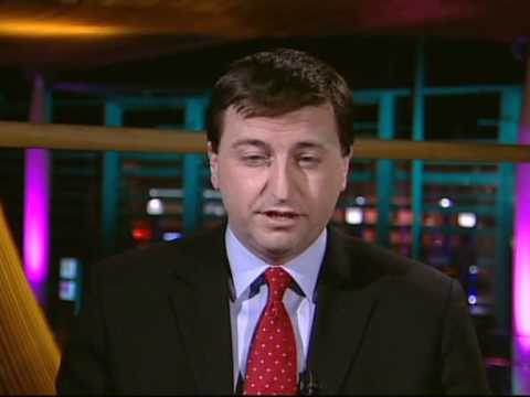 Ken Clarke,Douglas Alexander and  David Laws on Newsnight, April 2010