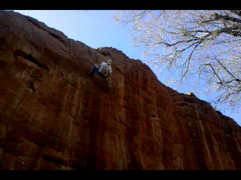 Red Rock Canyon Rappelling Oklahoma