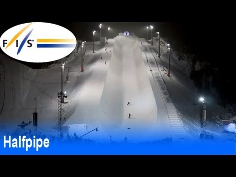 Men's halfpipe finals highlights from the 2013 Voss/Oslo FIS Freestyle World Ski Championship