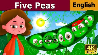 Five Peas In A Pod in English | English Story | Fairy Tales in English | English Fairy Tales