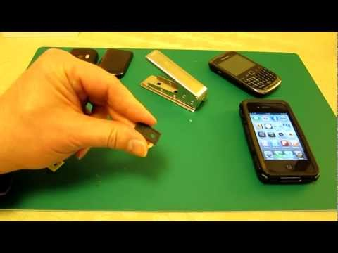 How to cut a SIM & turn into a Micro SIM - Also back again with a Micro SIM to SIM convertor!