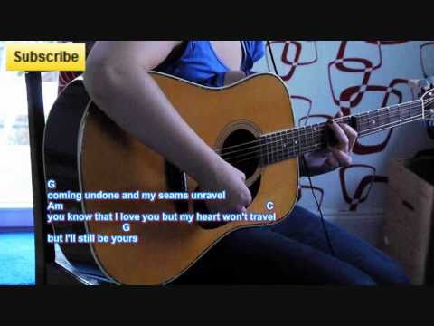 """How to play """"Airliner"""" (Julia Sheer ft. Tyler Ward) on Guitar"""