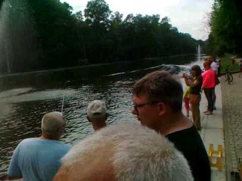 Airboot Torpedowy - Stary Kanał Bydgoski - Festyn Rodzinny Rady Osiedla Okole 26.05.2016