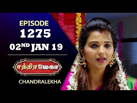 CHANDRALEKHA Serial | Episode 1275 | 02nd Jan 2019 | Shwetha | Dhanush | Saregama TVShows Tamil