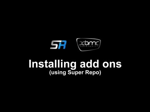 Super Repo XBMC Installation