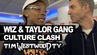 Wiz Khalifa & Taylor Gang backstage Red Bull Culture Clash - Westwood