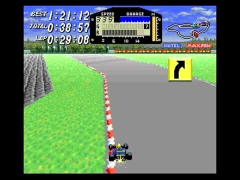 Race #1306 (of 5008?) in my 2012 BPISPORTS.COM Man v. Game challenge on the Super Nintendo Entertainment System's F1 ROC: Race of Champions (known in Japan a...