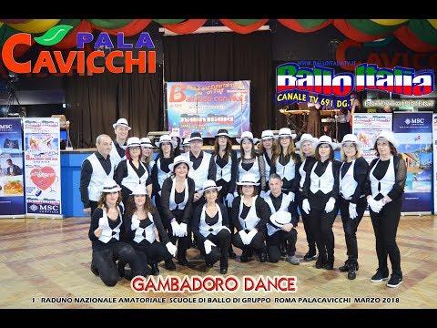 Ballo di gruppo Hully Gully M.J.da GAMBADORO SCHOOL DANCE DI SUBIACO (RM)