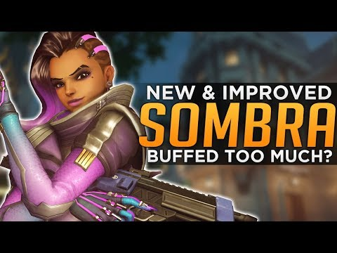 Overwatch: The NEW Sombra! - Are the BUFFS Too Much?