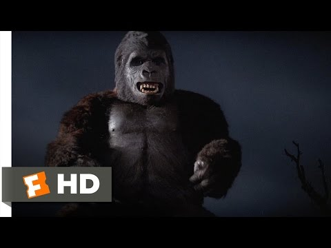 King Kong (49) Movie CLIP - A Violent Encounter (1976) HD