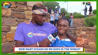 How Many OCEANS Do We Have In The World? | Street Quiz South Africa | Street Quiz Mzansi