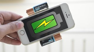 How to make a Portable USB cell-phone charger - Travel Life Hack