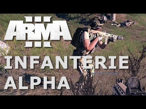 ARMA 3 - Infanterie - Alpha-Gameplay - Odium (JeremiahRose) als Gast-Kommentator