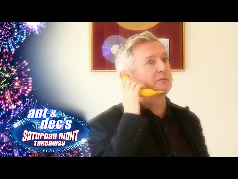 I'm A Celebrity Get Out Of Me Ear: Louis Walsh - Saturday Night Takeaway
