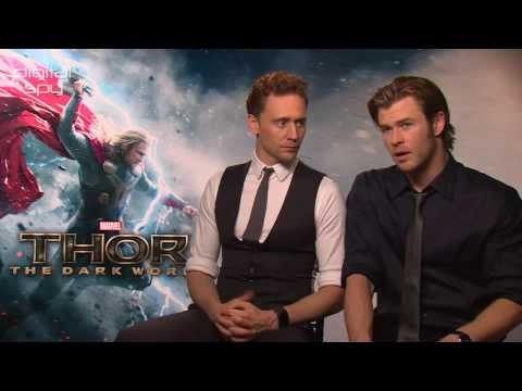 Tom Hiddleston, Chris Hemsworth on 'Thor 2's deep hidden love