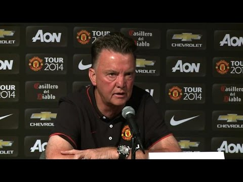 Manchester United - Louis van Gaal Slams Pre-Season Schedule Blaming