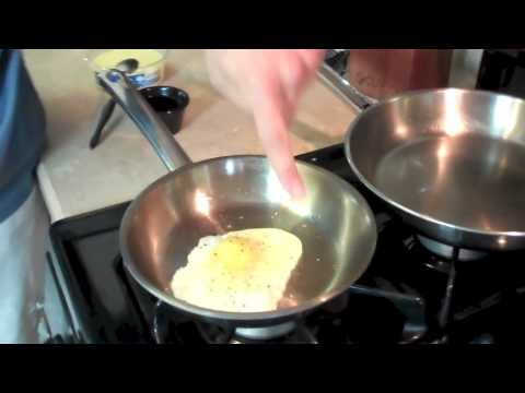 Frying Eggs in Waterless Cookware