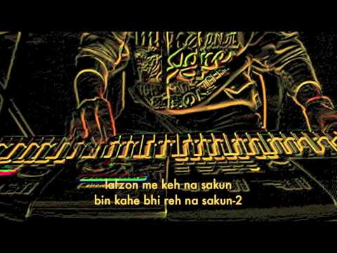 lafzon me keh na sakun (Abhijeet Sawant) on keyboard